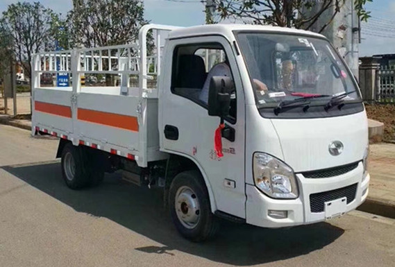 跃进汽油国六3.3米气瓶运输车